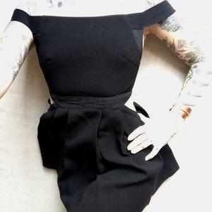 Three Floor little black dress